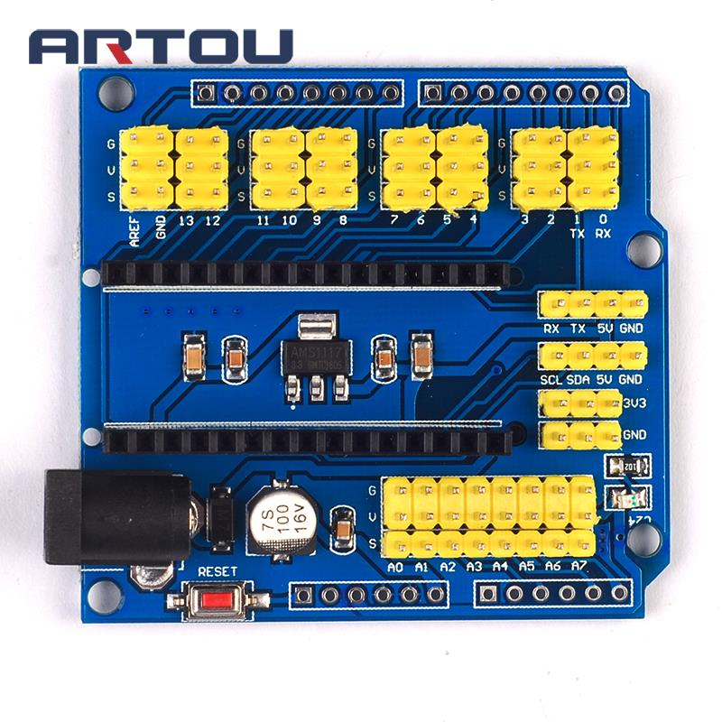 nano-i-o-io-expansion-sensor-shield-module-for-font-b-arduino-b-font-nano-v30-30-controller-compatible-board-i2c-pwm-interface-33v