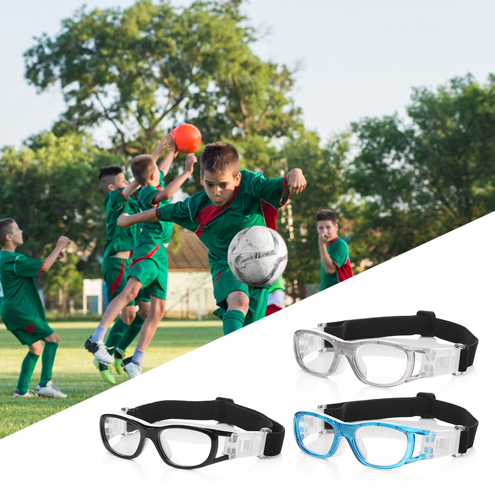 Professional Kid's Basketball Goggles Protective Glasses Children Football Soccer Eyewear Eye Protector Sports Safety Goggles