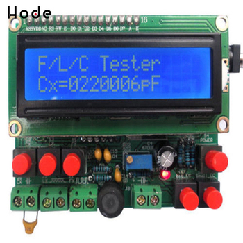 LCD Digital frequency counter Secohmmeter Capacitance Meter DIY Kit Frequency Meter cymometer Inductance Tester frequenzimetro l c f inductance capacitance high precision meter lc 100s new