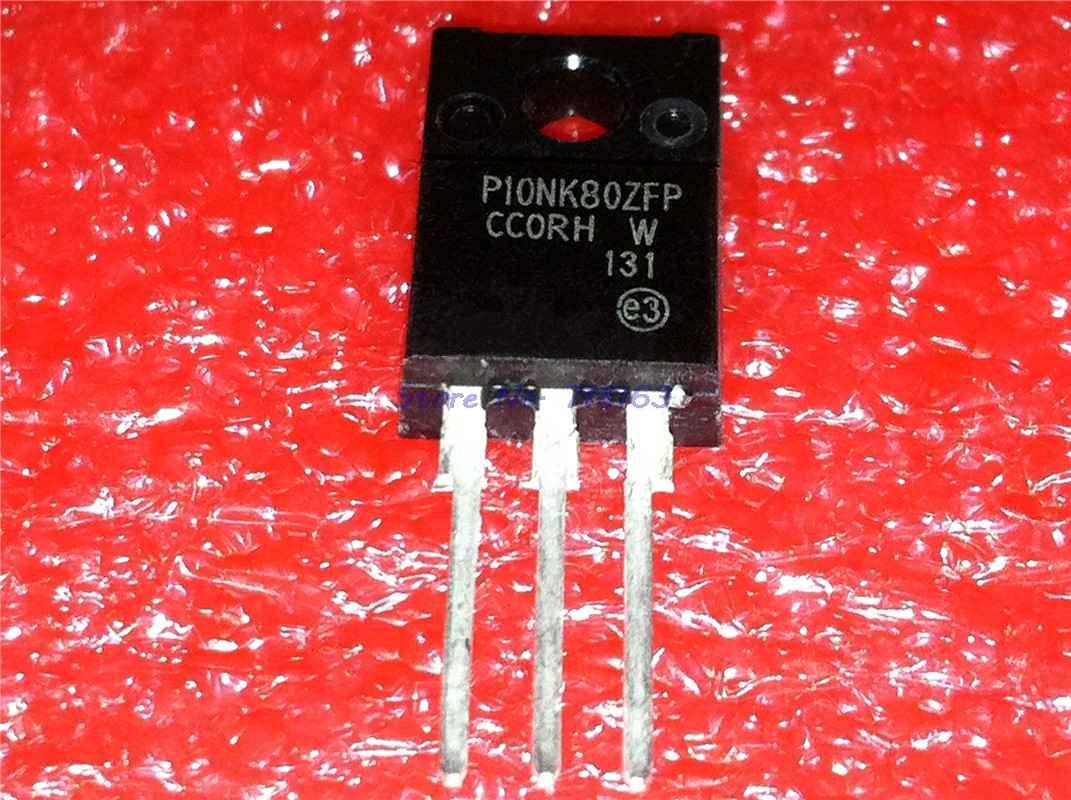 10pcs/lot STP10NK80ZFP P10NK80ZFP 10N80 TO-220 In Stock