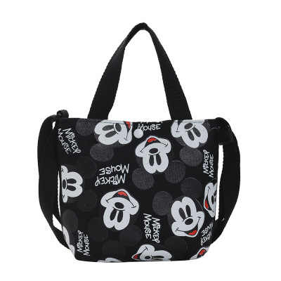 Disney Canves Meisje Messenger Bag Cartoon Mickey Mouse Schoudertas Leuke Mini Handtas Portemonnee