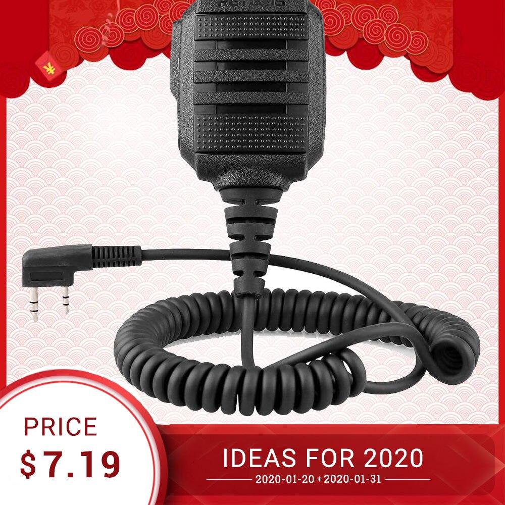 Chape RS-114 IP54 étanche haut-parleur Microphone pour Kenwood chape H777 RT5R RT22 RT81 BAOFENG UV-5R UV-82 888S talkie-walkie