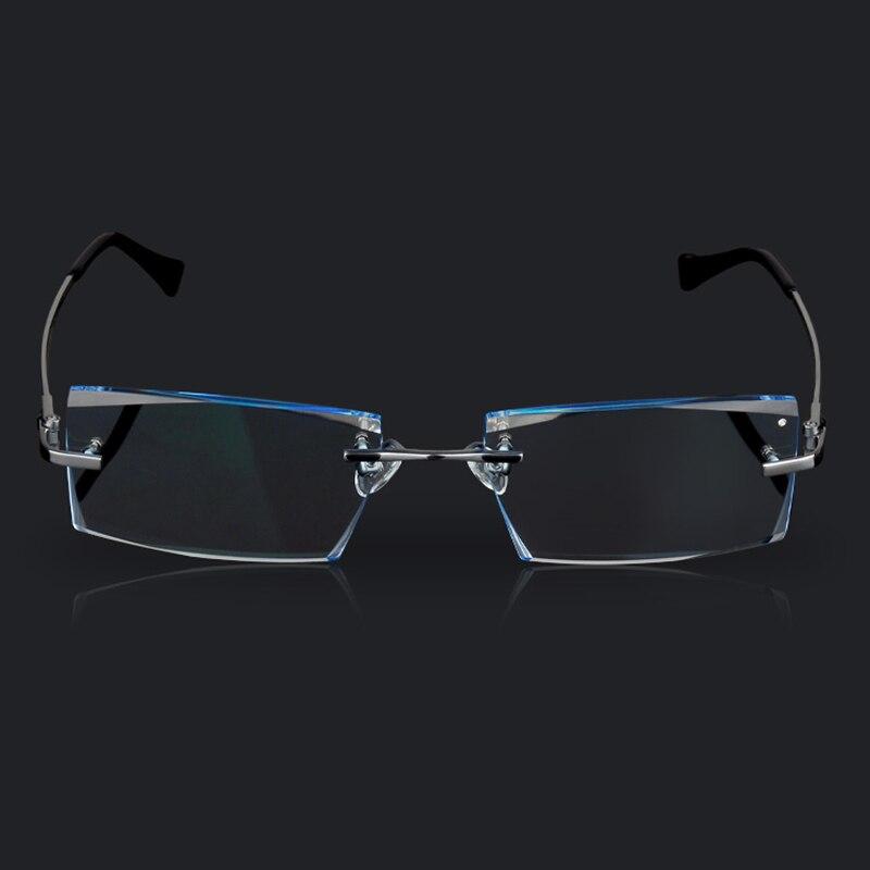 Herren Brillen Titan Randlose Brillen Kurzsichtigkeit Herren Business - Bekleidungszubehör - Foto 3