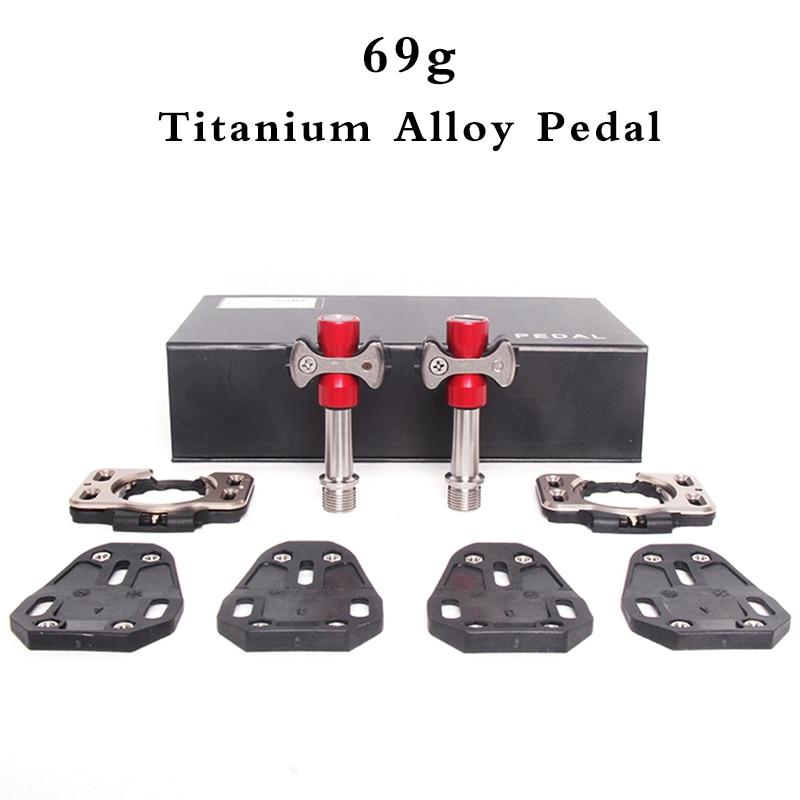 69 + SNELHEID SPELEN racefiets pedalen Titanium Track Sprint Speciale fiets pedaal clip