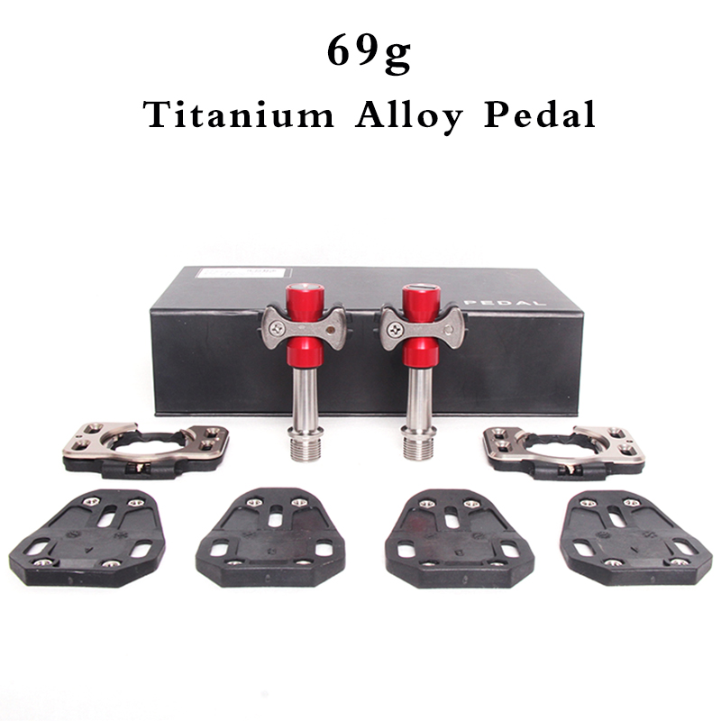 69 SPEED PLAY Road bike pedals Titanium Track Sprint Special bicycle pedal clip