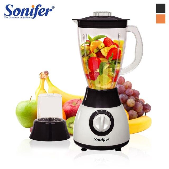 300ワット電気フードプロセッサープロフェッショナルブレンダーミキサーキッチン家電ブレンダー電気果物や野菜sonifer