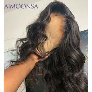 Image 3 - Body Wave 360 Lace Frontal Wig Pre Plucked With Baby Hair Full Lace Human Hair Wig 13x4 Lace Front Human Hair Wigs Remy 150%