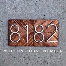 127mm Big House Number Huisnummer Hotel Home Door Outdoor Address Numbers for Numeros Puerta de la casa hausnummer