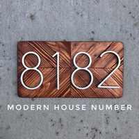 127mm Número de casa Grande Huisnummer número de Puerta de Hotel número de dirección exterior para casa números Puerta de la casa hausnummer