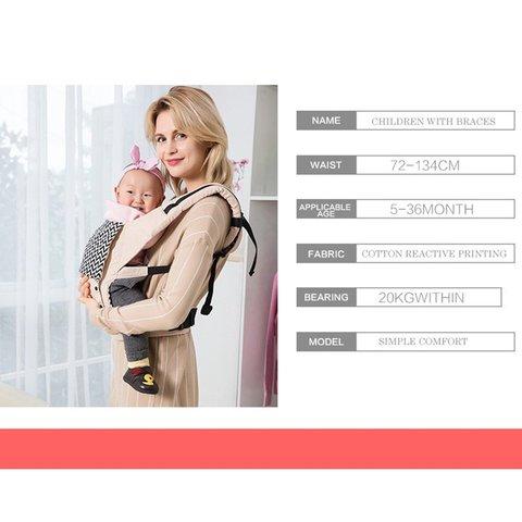 bebe algodao envolve ergonomico infantil recem nascido cinto de transporte mae