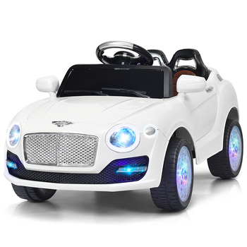 6V Kids Ride On Car Battery Powered RC Remote Control & Doors Christmas Gift New battery powered remote control private parking lock