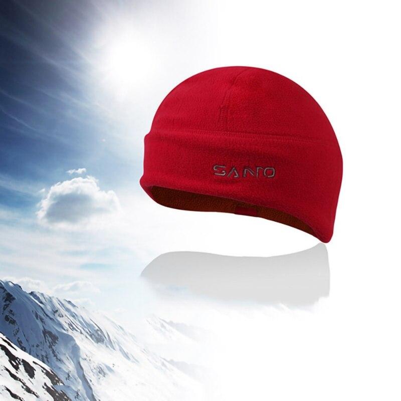 Men Women Winter Soft Warm Beanie Polar Fleece Watch Cap Windproof Thickened Beanie Hat For Oudoor Ski Climbing Camping Hiking
