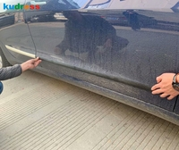 For Tesla Model 3 2018 2019 Chrome Side Door Molding Body Strip Streamer Lid Molding Cover Trim
