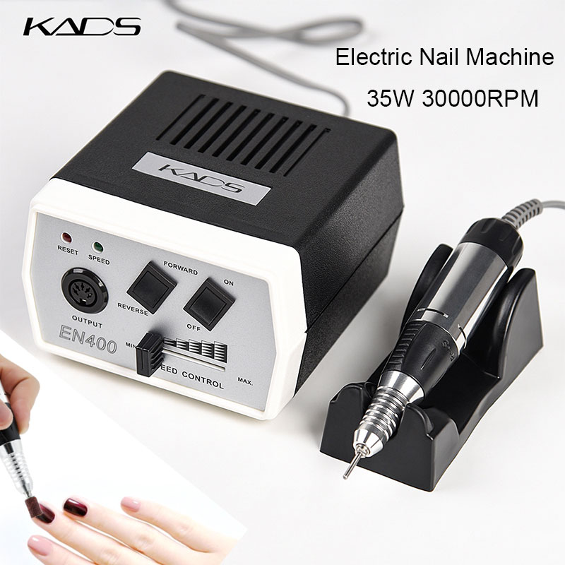 35W 30000RPM Electric Nail Drill Machine Set Professional Manicure Apparatus Electric Nail Pedicure File with Milling Cutter