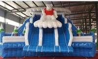 big water slide inflatable water slip