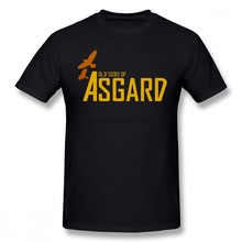 Asgard T Shirt Old Gods Of Asgard T-Shirt Short-Sleeve Classic Tee Shirt Oversize Graphic 100 Cotton Fun Men Tshirt(China)