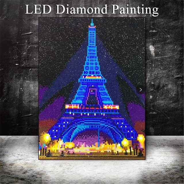 LED Eiffel Tower