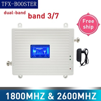 TFX-BOOSTER signal booster amplifier 4g 1800 2600 GSM DCS LTE 3G 4G dual-Band Cellular signal Repeater GSM Mobile Signal Booster