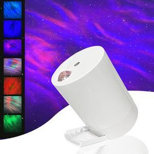 Звездное небо Проектор ночной Светильник проекция USB Звезда проектор спальня лазерный светильник для вечеринки светильник вращение на 360 г...