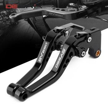 For SUZUKI SV650/X SV 650 2016 2017 2018 2019 Short Motorcycle Accessories Brake Clutch Levers for suzuki gsx 1300r hayabusa 1999 2007 motorcycle accessories short brake clutch levers black