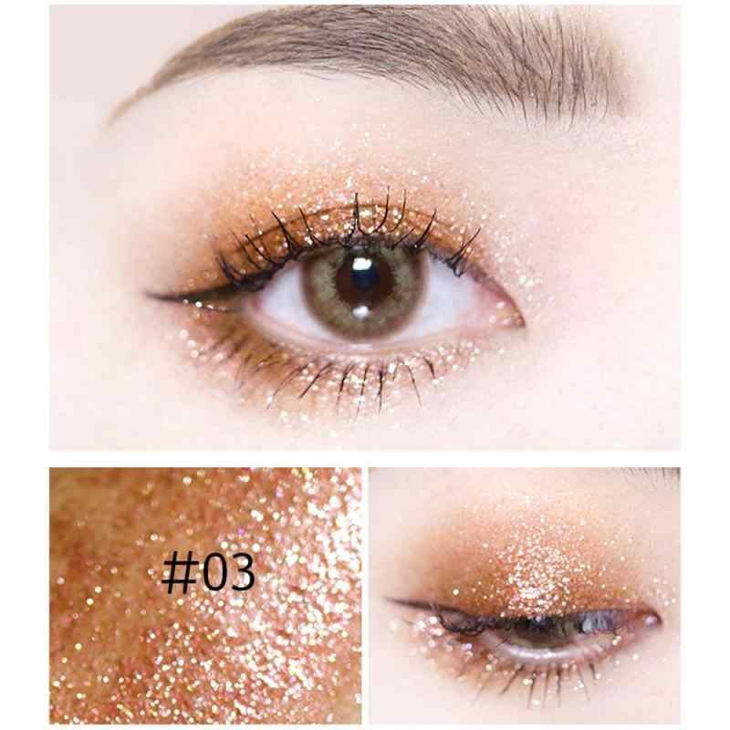 Novo brilhante olho forros maquiagem profissional prata rosa cor de ouro líquido glitter delineador para as mulheres pigmento dos olhos cosméticos tslm1