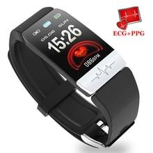 ECG PPG Smart Watch Fitness Tracker Waterproof Heart Rate Mo