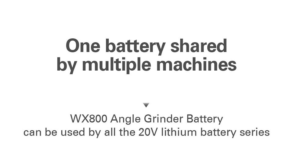 Worx One Battery Shared by Multiple Machines