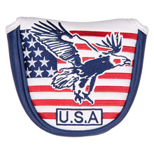 Head-Cover Putter Golf-Club Magnetic And with Usa-Flag Eagle