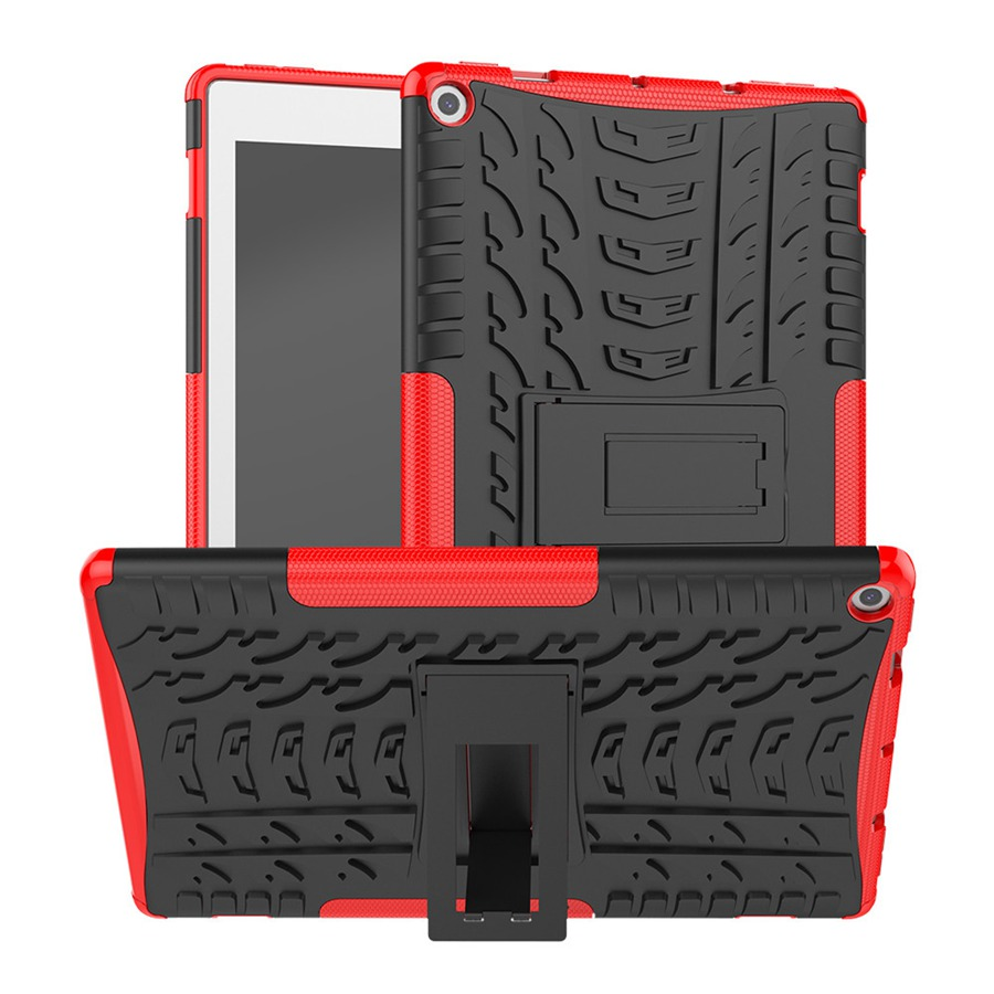 Armor Case For Amazon <font><b>Kindle</b></font> Fire HD <font><b>10</b></font> <font><b>2019</b></font> <font><b>10</b></font>.1 inch Silicon Hard Back <font><b>Cover</b></font> For Amazon <font><b>Kindle</b></font> Fire HD10 2017 Case+Film+Pen image