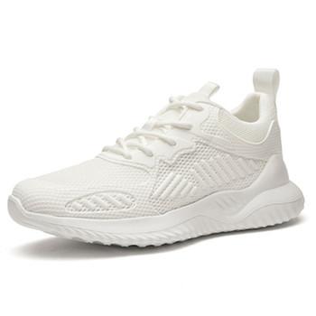 Lato białe buty gorące buty oddychające cienkie buty białe męskie buty deskorolkowe białe buty białe buty tanie i dobre opinie PADEGAO Mesh (air mesh) Stałe Dla dorosłych Pasuje prawda na wymiar weź swój normalny rozmiar Bonded leather Przypadkowi buty