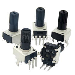 Вертикальный 12,5 мм вал RV09, 1k, 2k, 5k, 10k, 20k, 50k, 100k, 0932, регулируемый резистор 9 типа, 3-контактный уплотнительный потенциометр igmopnrq, 10 шт.