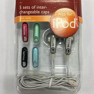 Image 4 - فيليبس SHE2610 سماعة الأذن نوع تغيير غطاء وكمان مشغل MP3 CD اللوحي الهاتف المحمول