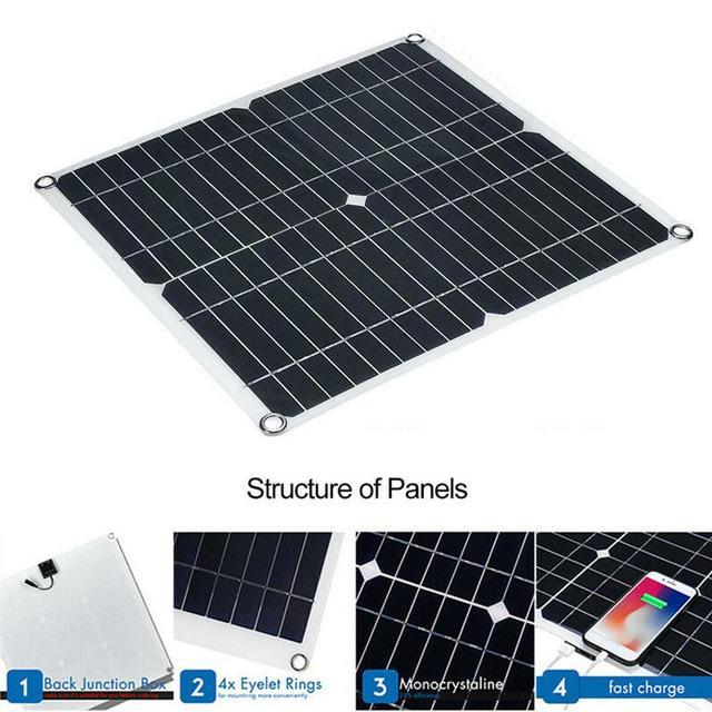 Panneau solaire chargeur de voiture animal de compagnie bricolage Mini amélioration de la maison monocristallin silicium 280*280mm jouets environnementaux partie Module 20W