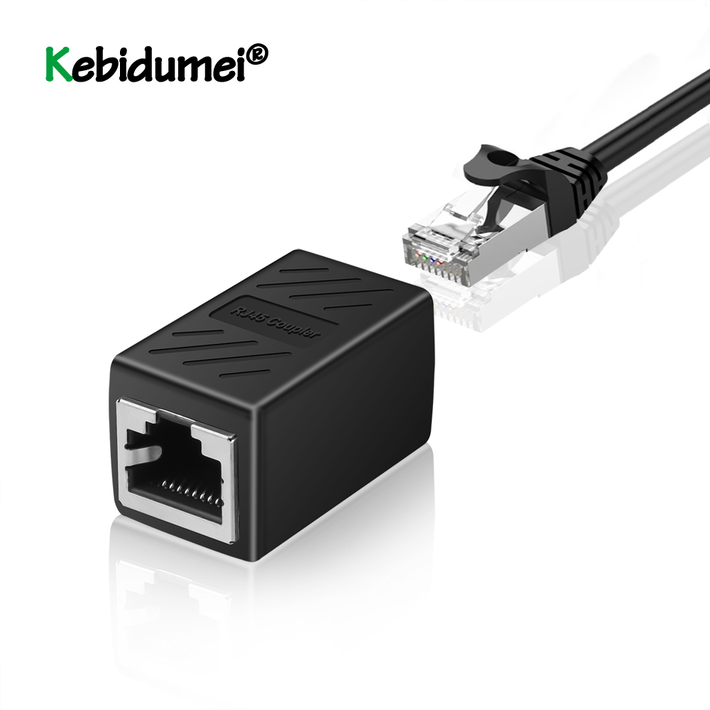 Mini RJ45 Female To Female Network Ethernet LAN Splitter Connector Transfer Head RJ45 CAT 5 5E 6 6a Extender Network Cable| |   - AliExpress