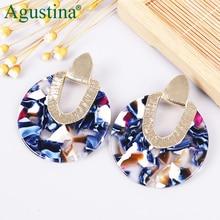 Agustina Punk Earrings Girls Dangle Earrings For Women Fashion Earrings Jewelry Bohemian Pendientes Cute Earring Minimalist Drop