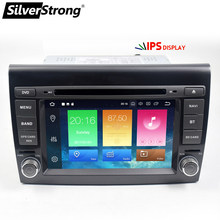 SilverStrong 2 Din Android9.0 4 グラム 64 3G カー DVD プレーヤー 7 ''Autoradio GPS ナビゲーションのためのフィアットブラボー 2007 2008 2009 2010 2011 2012(China)