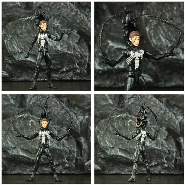 Black Spider Man Symbiote Action Figure 6Inch 4