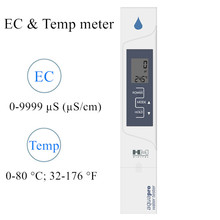 2 in 1 AP-2 EC meter HM Digital EC Temperature Water Quality With Automatic Calibration Electrical Conductivity Tester 40% off