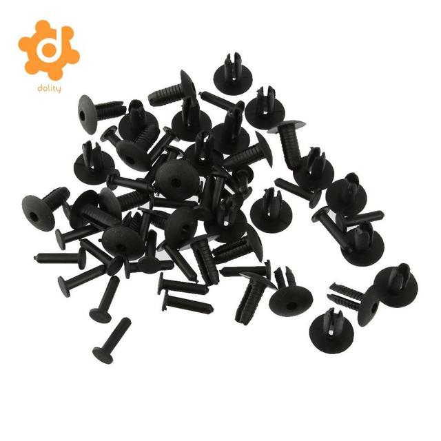 30 peças clipe de fixação para para choque, clipe amortecedor para montagem de rebite, para carros 6mm 8mm bmw e30 e36 e46 e39 e38 z1