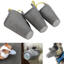 Hond Gezicht Masker Snuit Anti-Smog Niet-geweven Masker Ademend Anti Dust Mond Cover Voor Anti Bark bite Mond Cover Dierbenodigdheden(China)