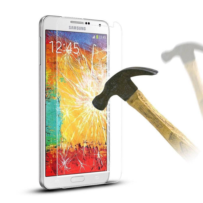 9H HD Hard Phone Tempered Glass <font><b>Film</b></font> For <font><b>Samsung</b></font> Galaxy <font><b>S7</b></font> S6 S5 S4 S3 mini <font><b>Screen</b></font> <font><b>Protector</b></font> For Note 5 4 3 2 image