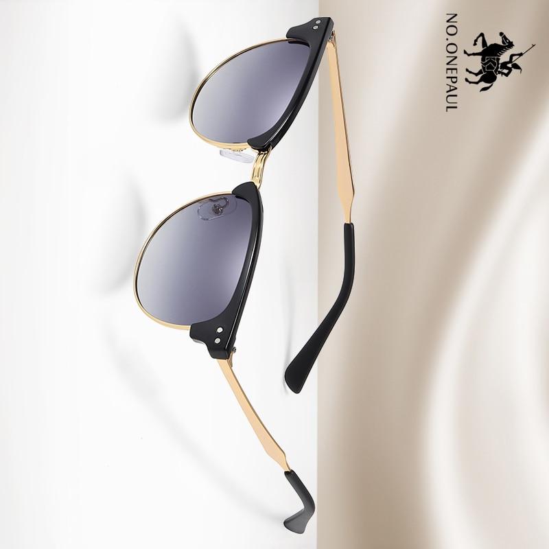 NO.ONEPAUL Polarized Sunglasses Lighter Design Square Frame 100% UV400 Protection Vintage Driving Men Women Classic Retro