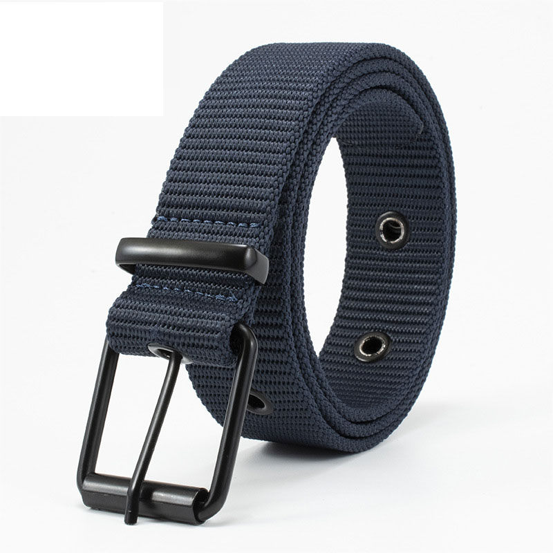 Comfortable and Breathable Nylon Men's and Women's Tactical Belt Outdoor Non-slip Wear-resistant High-quality Luxury Jeans Belt