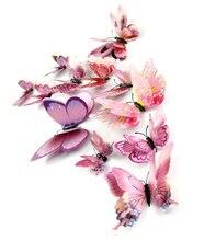 Креативная Настенная Наклейка 3d в китайском стиле зеленая розовая