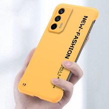 Frameless pc caso de telefone duro para realme gt neo x luxo fosco capa para oppo a5 a9 2020 a31 f11 k3 a55 a72 a73 a93 5g coque