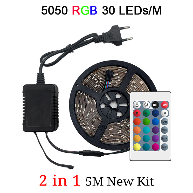 5050 30LEDs 1M 2in1