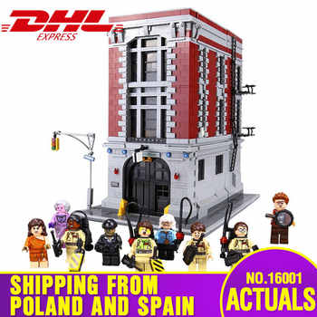 DHL 16001 Building Toys The 75827 Ghostbusters Firehouse Headquarters Set Building Blocks Bricks Assembly Kits Kids Toys Gifts - DISCOUNT ITEM  0% OFF All Category