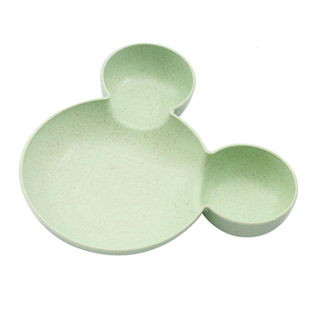 Green Baby Cartoon Mouse Bowl