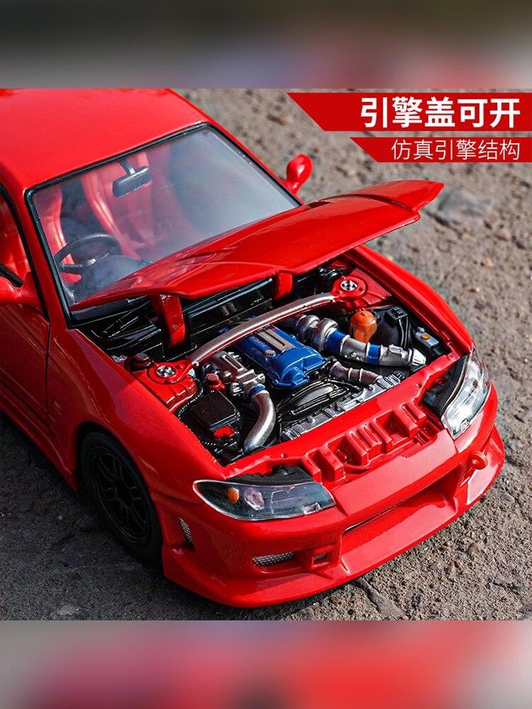 s15 corrida super esporte carro diecast display 05