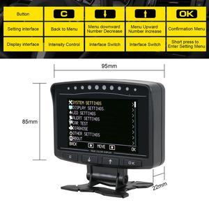 Image 3 - AUTOOL pantalla HUD X60 X50 Pro para coche, detección de fallos, indicador de presión de combustible, voltímetro, Temperatu